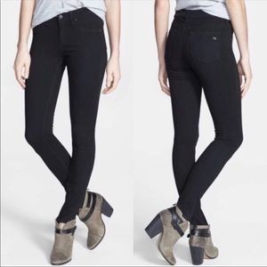 NWOT Rag & Bone Jeans The Legging. Dark Wash. 26